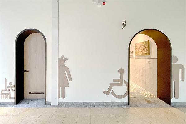 中原大學懷恩樓一樓廁所-穿越時光